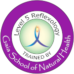GAIA L5 Reflexology trained by Gaia School of Natural Health