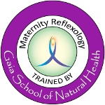 Maternity reflexology trained by Gaia School of Natural Health