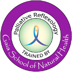 Palliative reflexology trained by Gaia School of Natural Health