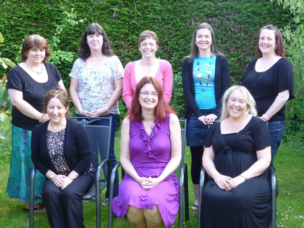 Level 3 Reflexology Diploma class 2012-13