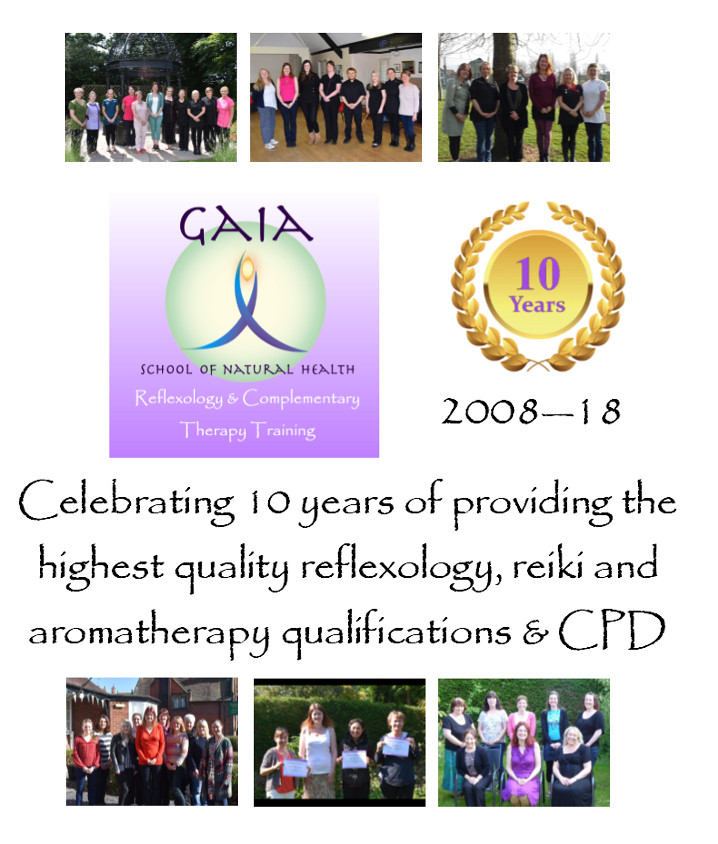 Gaia School of Natural Health 10 year anniversary